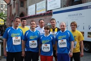 Die Liberale Läufergruppe beim Göttinger Altstadtlauf
