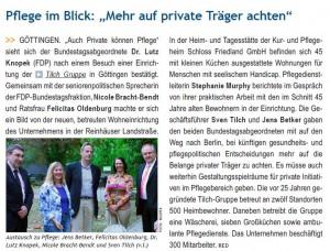 GöWD 24.05.2013 S. 1 Besuch Tilch GmbH